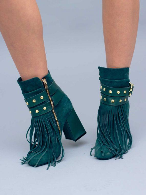 Botine de damă Mineli Emerald