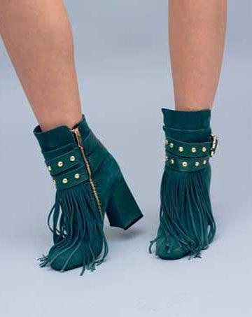 Botine de damă Mineli Emerald 1