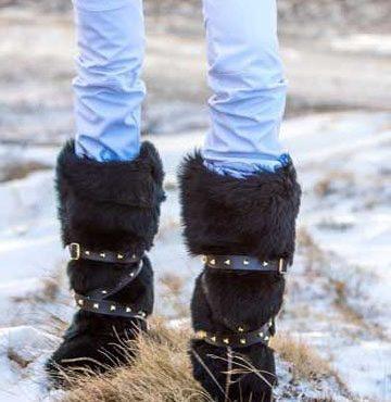 Cizme apres ski Mineli North Pole Black 1