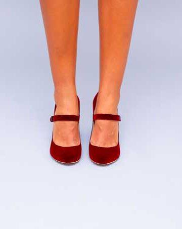 Pantofi de dama Mineli Firenze Red 1