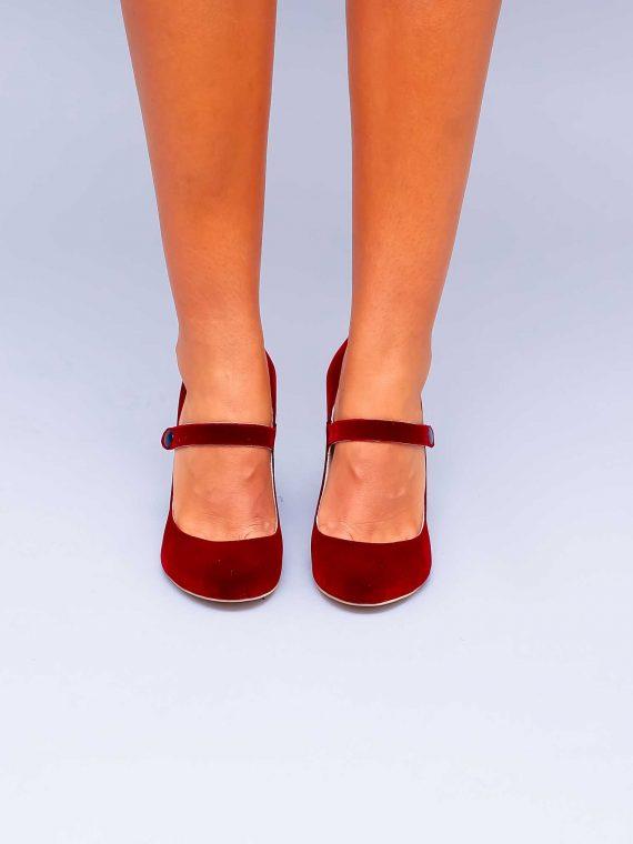 Pantofi de dama Mineli Firenze Red