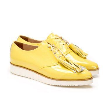 Pantofi de damă MNL Aqua Yellow