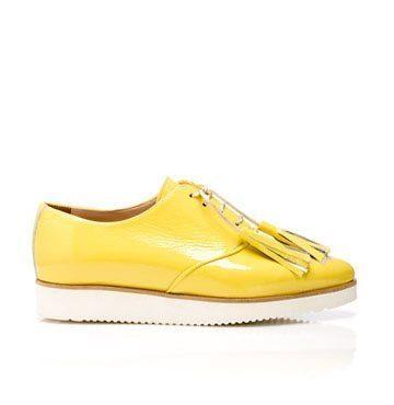 Pantofi de damă MNL Aqua Yellow 1