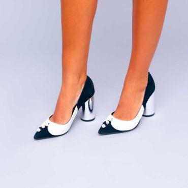 Pantofi de damă Mineli Black Office