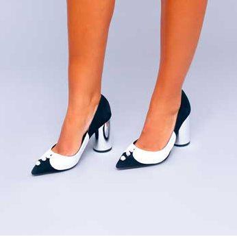 Pantofi de damă Mineli Black Office 1