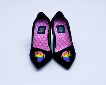 Pantofi de damă Mineli Butterfly 1