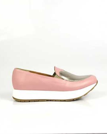 Pantofi de dama Mineli Queen Pink Lite 1