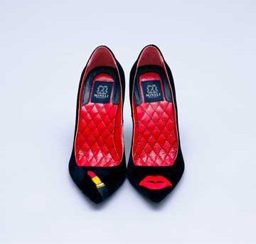Pantofi de damă Mineli Red Lips 1