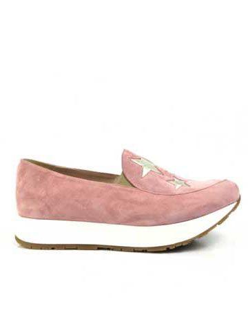 Pantofi de dama Mineli Starlight Pink Lite