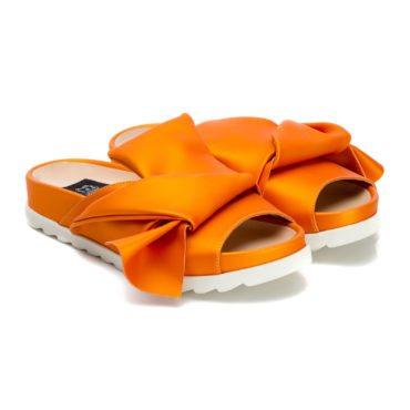 Saboți de damă MNL Olive Orange