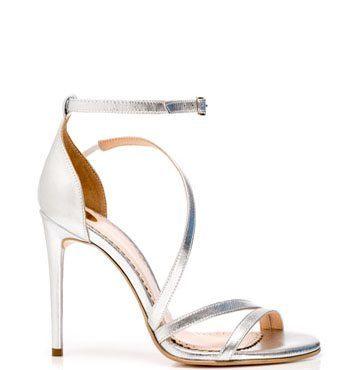 Sandale de damă Mineli Alena Silver 1