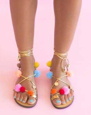 Sandale de dama Mineli Amazon 1