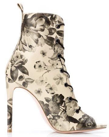 Sandale de damă MNL Black Roses 1