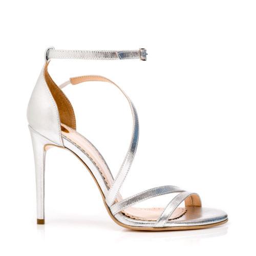 Sandale de damă Mineli Alena Silver