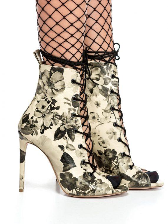 Sandale de damă MNL Black Roses