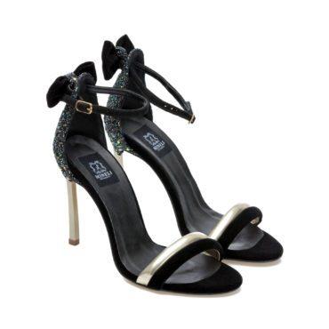 Sandale de damă Mineli Lorelai Glitter