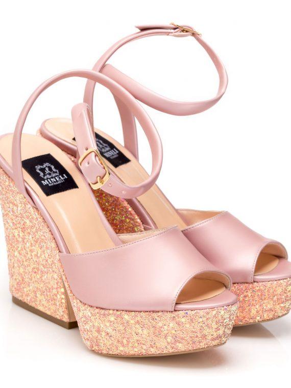 Sandale de damă Mineli Pink Sun