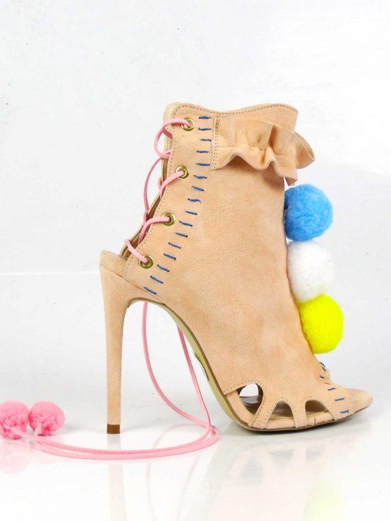 Sandale de damă Mineli Lola Beige
