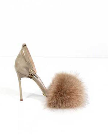 Sandale de damă Mineli Puff Beige 1