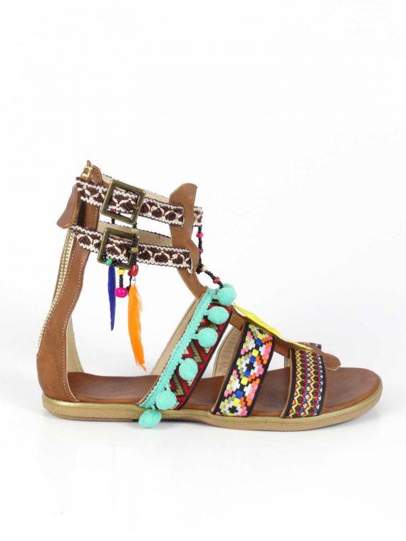Sandale de dama Mineli Safari