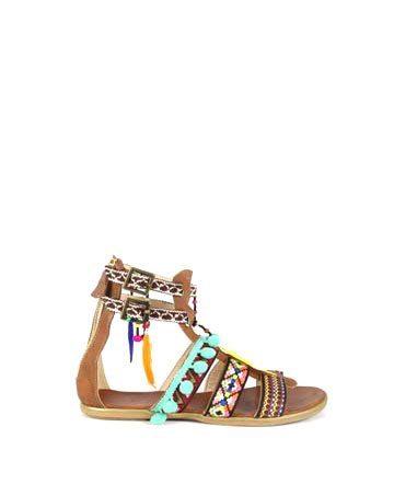 Sandale de dama Mineli Safari 1