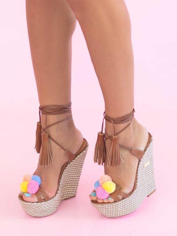 Sandale de dama Mineli Tiki
