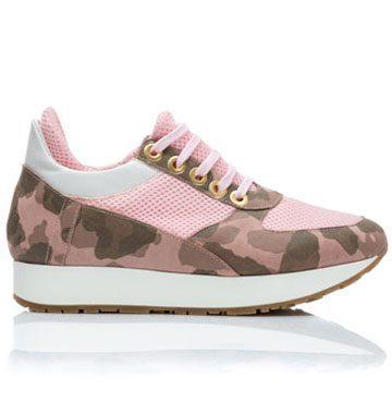 Teniși de damă MNL Pink Army 1