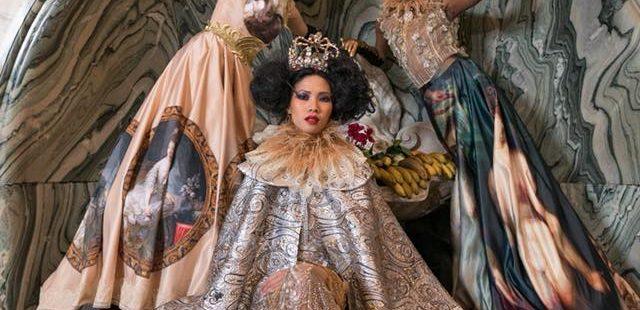 Cătălin Botezatu și Mineli la Paris Fashion week