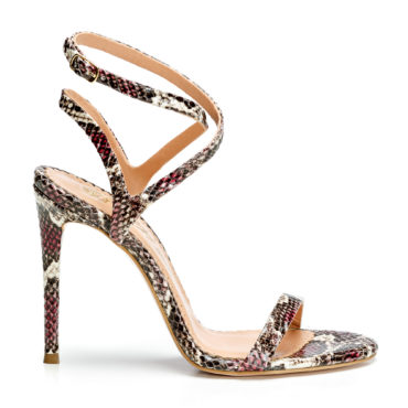 Sandale de dama Mineli Eva Snake Rose