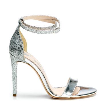 Sandale de dama Mineli Liana Silver