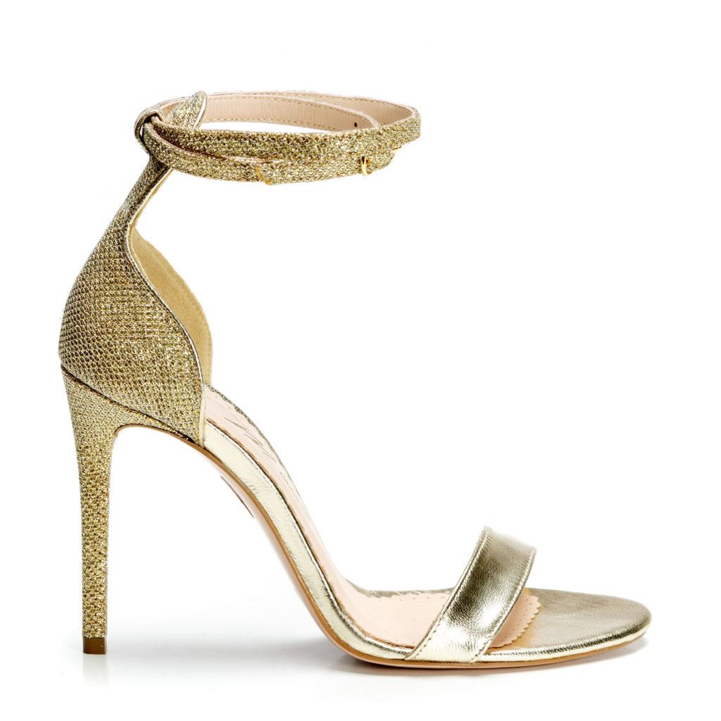 Sandale de dama Mineli Lilly Gold