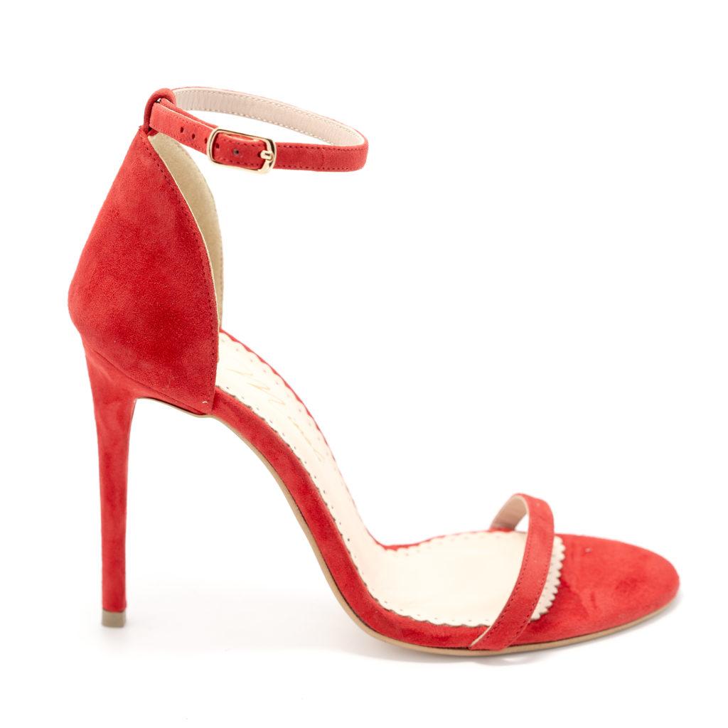 Sandalele de dama Mineli Sally Red