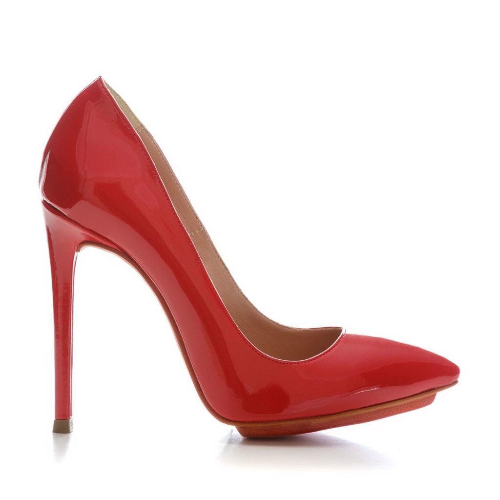 Pantofi de dama Mineli Stiletto Damour Red