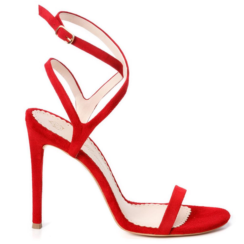 Sandale de dama Mineli Eva Red