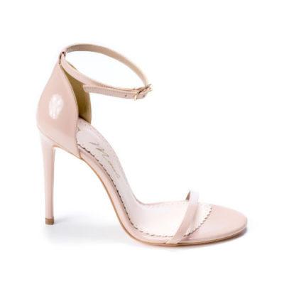 Sandale de dama Sally Patent Nude