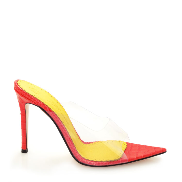 Sandale de dama Celia Orange