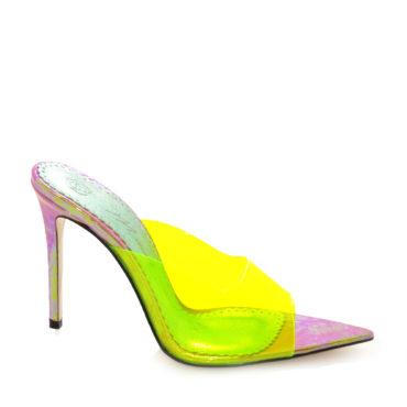 Sandale de dama Celia Neon Lemon