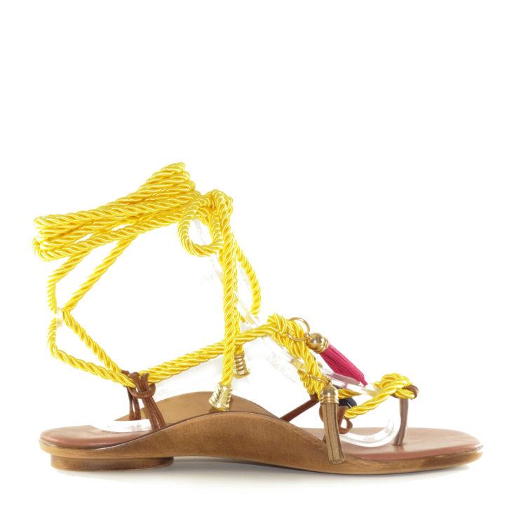 Sandale de dama Izzy Yellow
