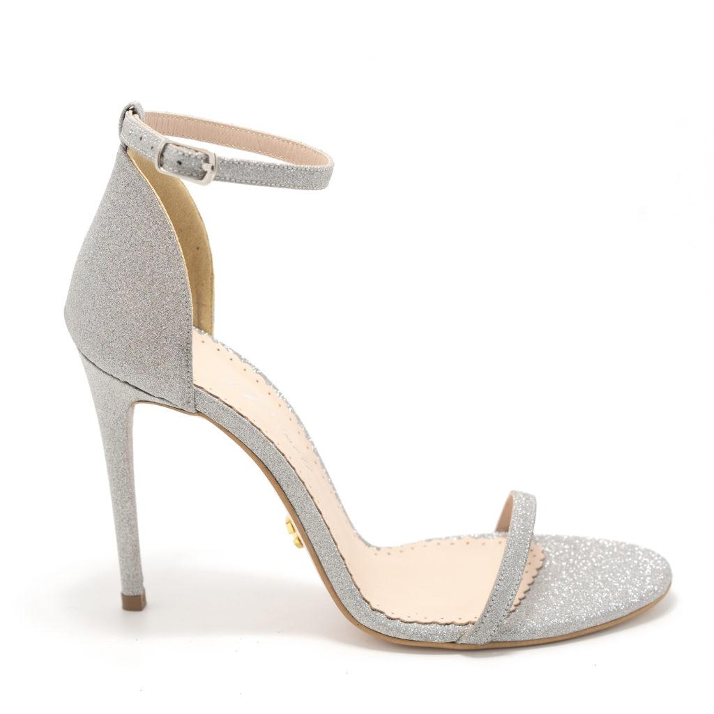 Sandale Sally Silver Glitter