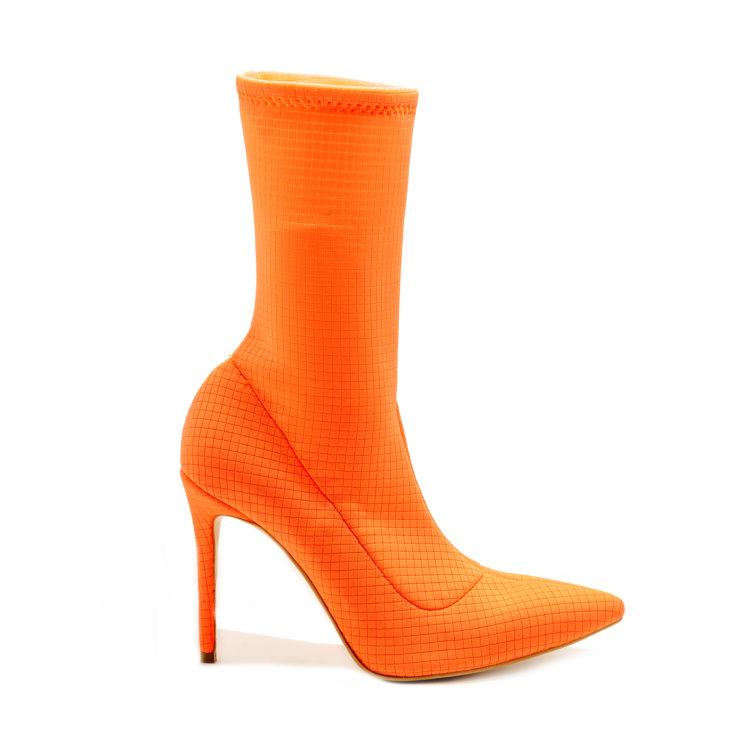 Botine Mineli Linda Fluorescent Orange