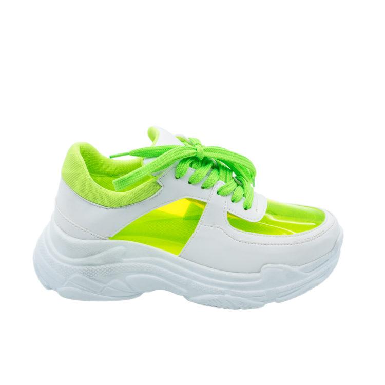 Sneakers Mineli Truck Green Neon