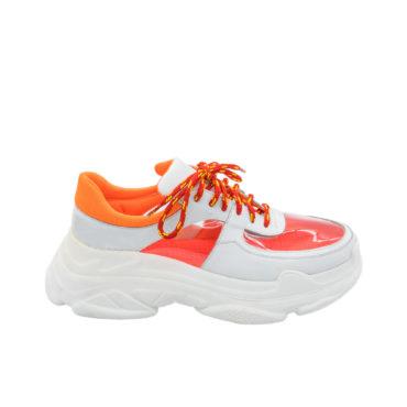 Sneakers Mineli Truck Orange Neon