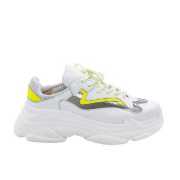 Pantof Sport Mineli White Deviant