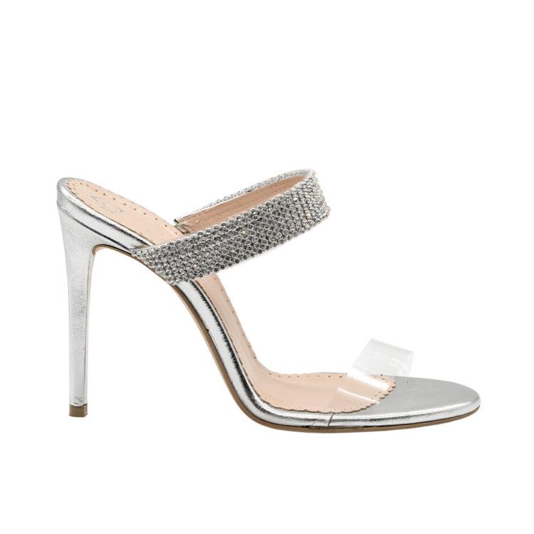 Sandale de damă Mineli Pam Silver