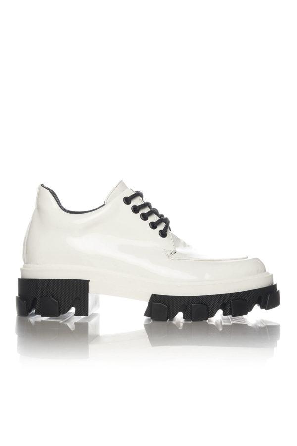 Pantofi Casual Mineli Venti White