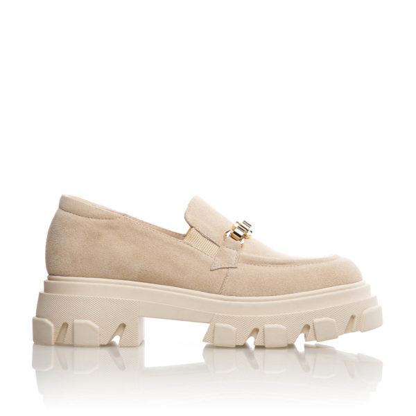 Pantofi Casual Prada Beige Chain 1