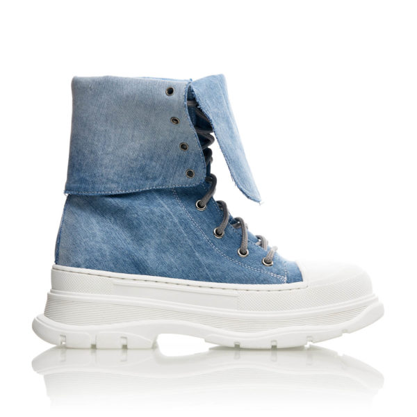 Sneakers Inalti Mineli Queen Jeans 1