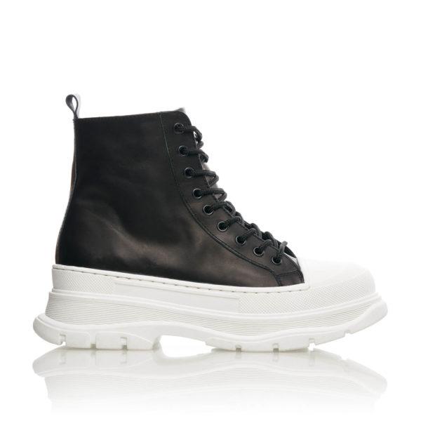 Sneakers Inalti Mineli Queen Negru 1