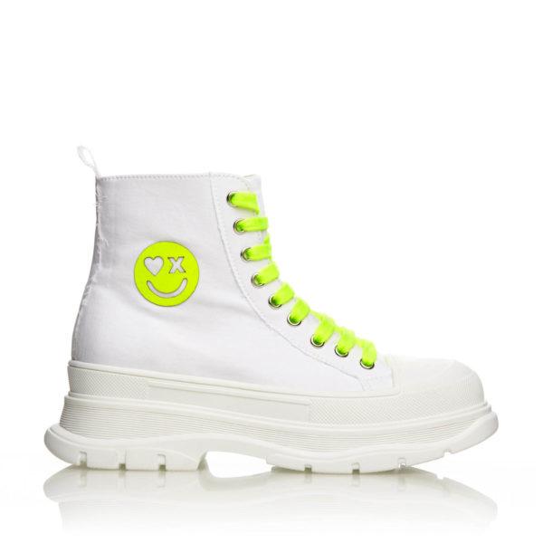 Sneakers Inalti Mineli Queen Albi XO 1