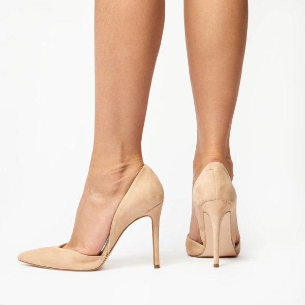 Pantofi Stiletto Mineli Venti Nude 3